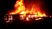 The blaze broke out in a four-bedroom house they were sleeping in killing them