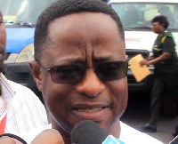 Minister of Lands and Natural Resources, Mr. John Peter Amewu