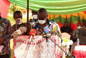 Kwaku Asomah-Cheremeh, Minister for Lands and Natural Resource