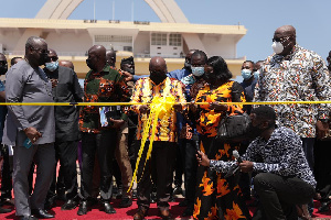 President Nana Addo Dankwa Akufo-Addo unveils Zoomlion's unveils 500 state-of-the-art waste trucks