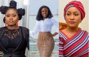 Lydia Forson, Nana Aba and Samira Bawumia form the list of eligible candidates for Ghana's pesidency