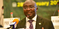 Vice President Dr Mahamudu Bawumia addressing stakeholders at the conference