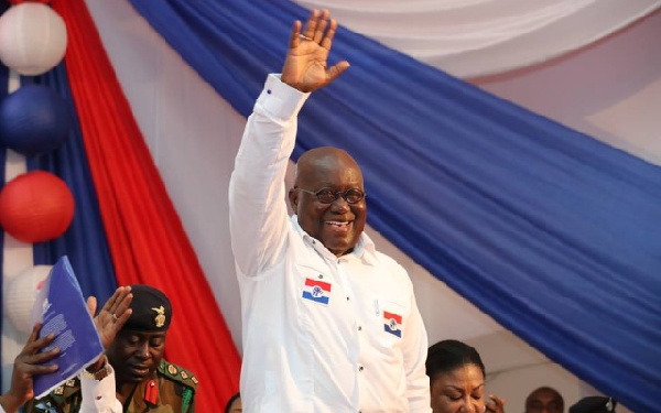 Akufo-Addo is the only candidate who filed to contest NPP's presidential primary