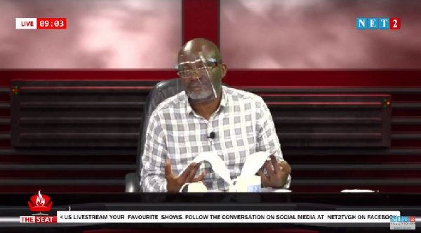 LIVESTREAMING: 'The Seat' show with Kennedy Agyapong