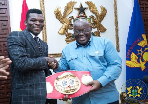 Commey with President Akufo-Addo