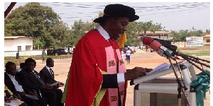 VIce Chancellor of Sunyani Technical University, Prof. Kwadwo Adinkrah-Appiah