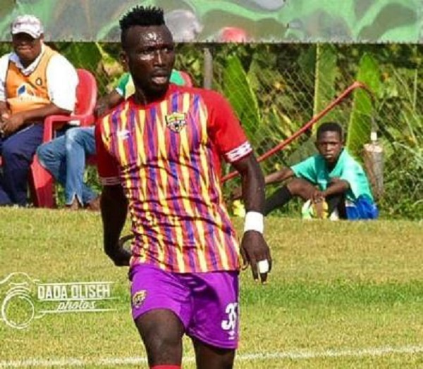 Playing abroad is every footballer's target – Hearts midfielder Emmanuel Nettey