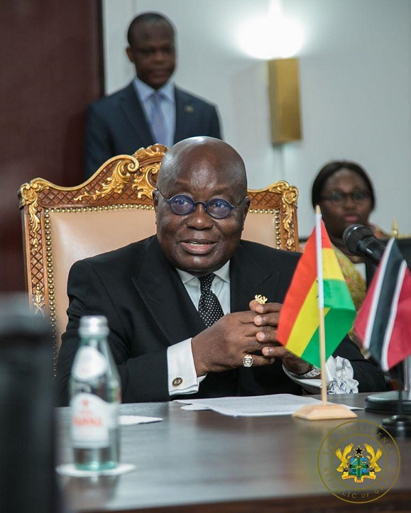 Twitter users heap praises on Akufo-Addo after #EndSARS post