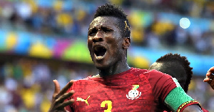 Former Ghana captain, Asamoah Gyan