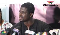 Convener of LMVCA, David Asante