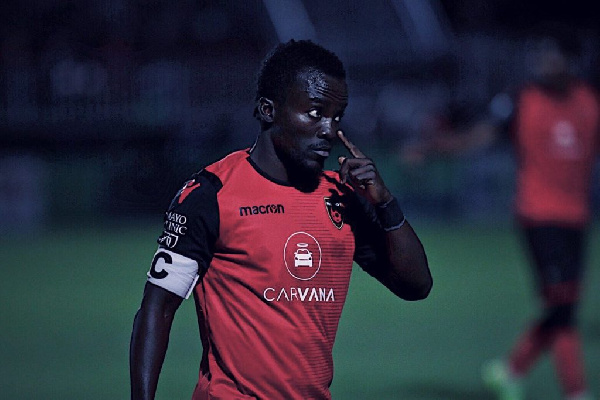 Ghanaian winger Solomon Asante delighted with Phoenix Rising's 2019 season