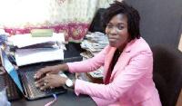 Parliamentary candidate hopeful, Kafui Augusta Takyi