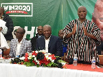 Some leaders of the NDC