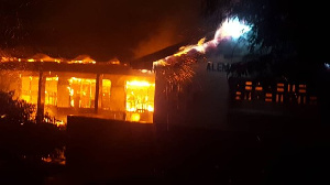 Another fire outbreak at Accra Academy