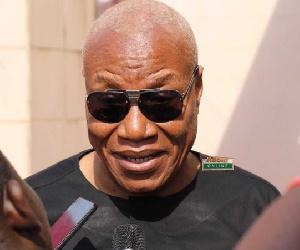 Flagbearer aspirant of the NDC, Prof Joshua Alabi