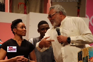Rawlings has denied knowledge of reports that Zanetor could be Mahama's running mate