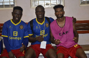 The former Hearts of Oak stars were all handed starts in Kampala