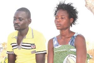 Mr Nambada and wife Kakra Mba, parents of Nyanne Nambada and Nambada Uwumboryakii