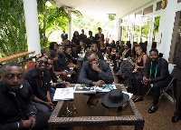 Some Ghanaian celebrities that visited President Mahama to mourn with him
