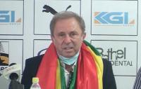 Milovan Rajevac, the head coach of the Black Stars