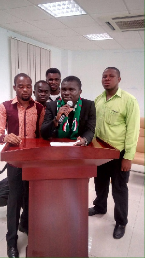 Some members of the Young Cadres