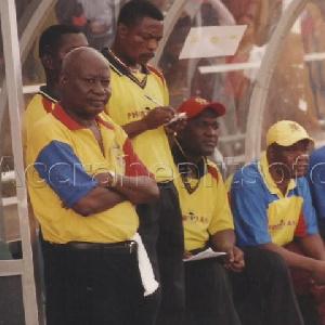 Legendary coach Cecil Attuquayefio