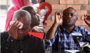 Maurice Ampaw reiterated that John Mahama's utterrances are a problem in Ghana