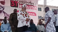 JJ Rawlings at the event
