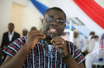 Sammi Awuku, National Organizer for the New Patriotic Party