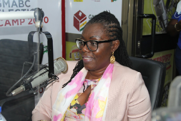 NDC strongholds have abandoned the party because of our good works - Ursula Owusu