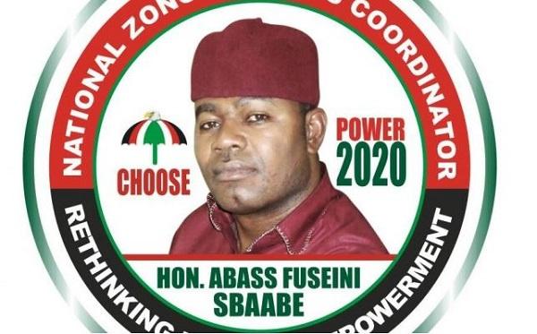 Abass F. Sbaabe, NDC Aspiring Zongo Caucus Coordinator