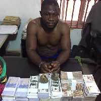 Mallam Mununi allegedly took GHC81,000 from his victim and gave him GHC1.5m in fake currencies