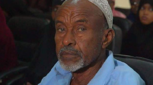 Ilyas Aden says he checked the bodies of the men after the execution to check they were dead