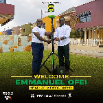 Kotoko names ex-GFA cameraman Emmanuel Ofei as head of videography