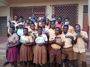 Some BECE  candidates from the Afigya Kwabre South District