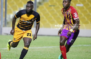 Hans Kwofie And Nuru Sulley Of Accra Hearts Of Oak