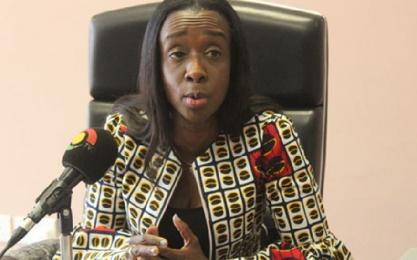 Delese Mimi Darko, CEO of the Food and Drugs Authority