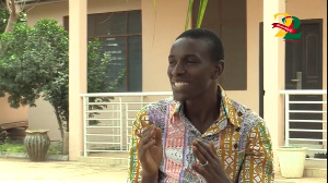 Yaw Siki is grateful he got saved through the accident