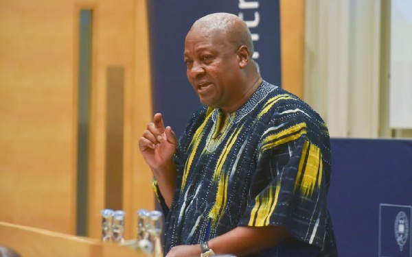 Using Zongo funds to build football pitches, teaching how to cook \'waakye\' insignificant - Mahama