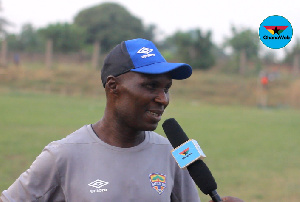 Interim Hearts of Oak coach Edward Odoom