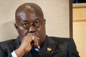 President Akufo-Addo is currently undergoing 14-days of self isolation