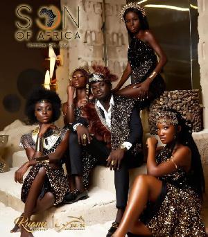 Kuami Eugene's 'Son of Africa' album cover