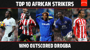 Didier Drogba and some African greats
