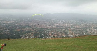 Ghana Paragliding Festival is aimed at promoting domestic tourism in the country