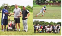 The donation from the Trust provides needed equipment to  Ghana's baseball and softball teams