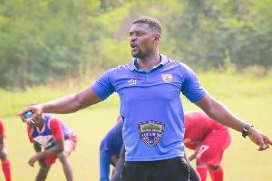 Coach Samuel Boadu