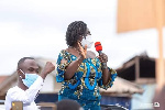Vice presidential candidate of the NDC, Prof. Naana Jane Opoku-Agyemang