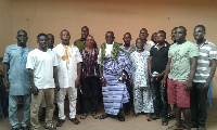 The Bediako Royal Clan of Kpone in a group picture