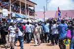 Akufo-Addo is in the Oti Region