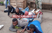 The alleged thieves are in police custody